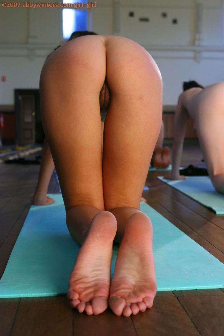 Naked girls do yoga - 24