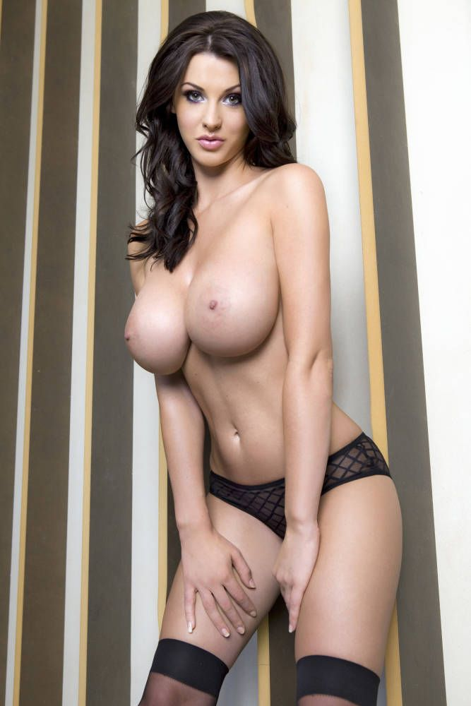 Gorgeous brunette Alice Goodwin - 01