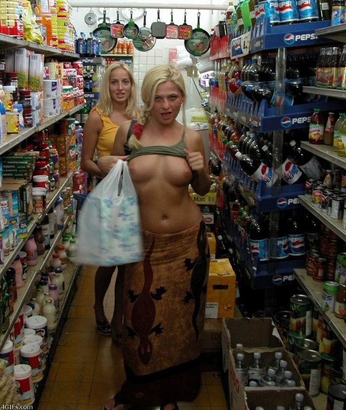 Excellent selection of nipslips and pussyslips in public - 01