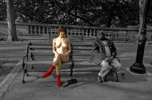Red socks - 47