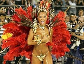 Why all the girls are so joyful at the Brazilian carnival?