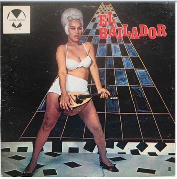 Huge selection of terrible vinyl discs covers - 90