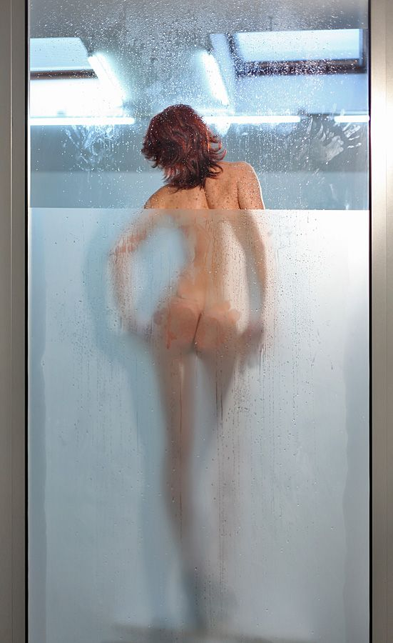 Behind glass - 01