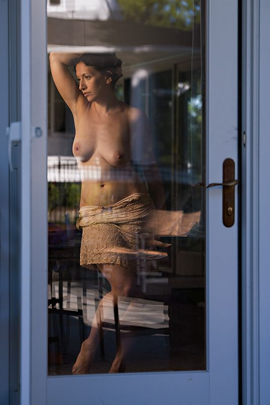 Behind glass - 73