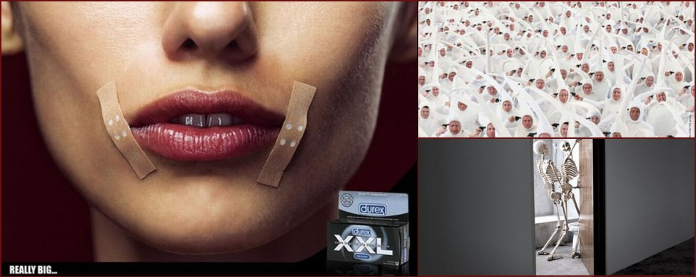 Examples of creative advertising of condoms - 11
