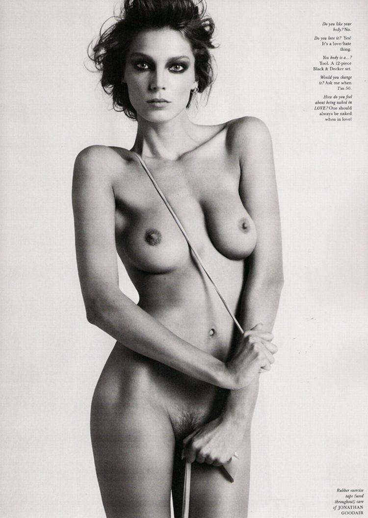 Nude supermodels in Love Magazine - 01