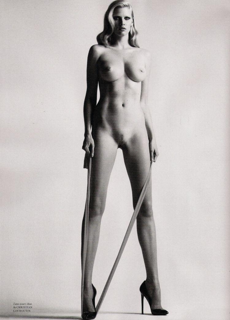 Nude supermodels in Love Magazine - 12