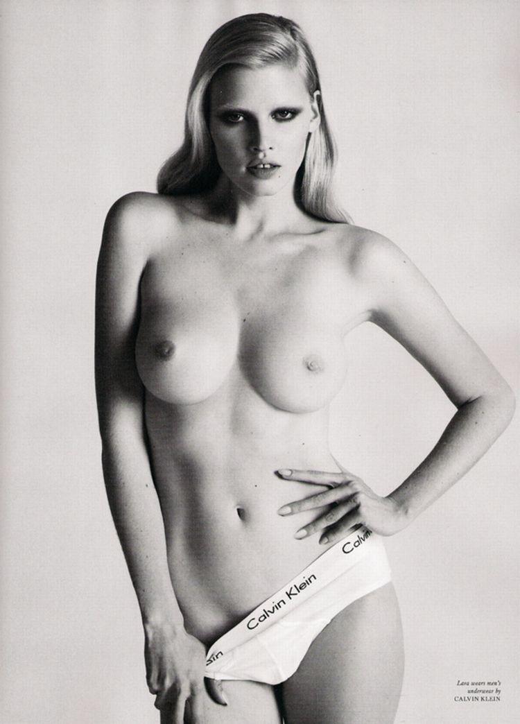 Nude supermodels in Love Magazine - 15