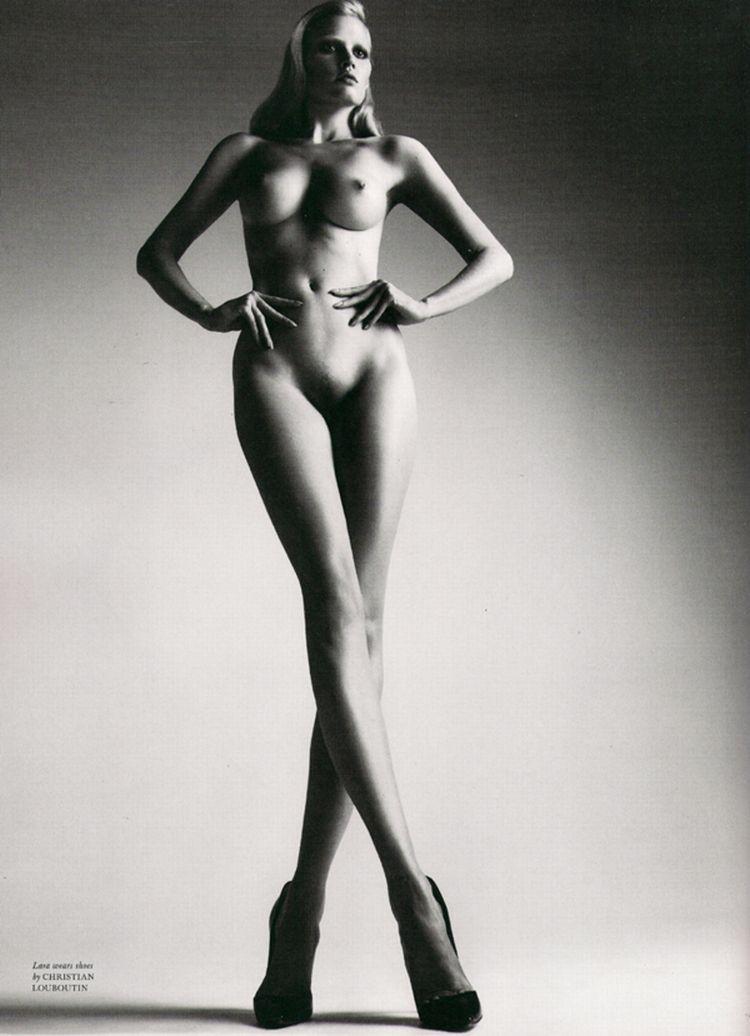 Nude supermodels in Love Magazine - 16