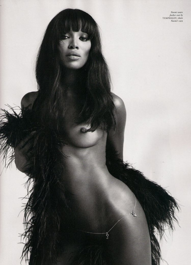 Nude supermodels in Love Magazine - 17