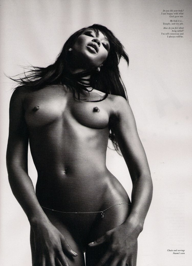 Nude supermodels in Love Magazine - 19