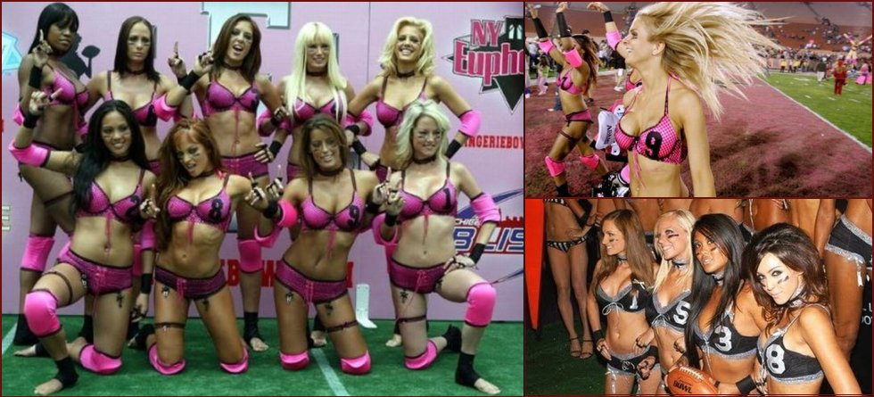 Beauty and sexy Lingerie Football League - 9