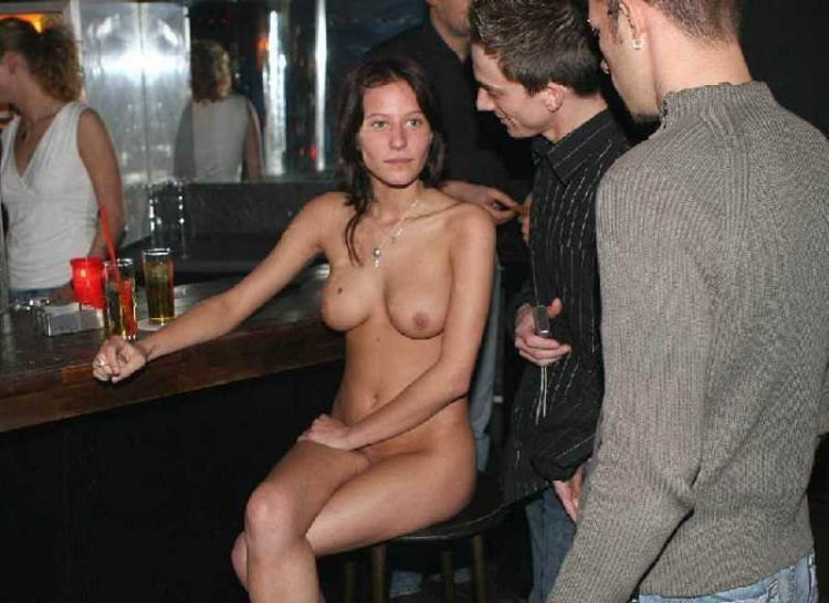 Girls that like to go naked in public places - 06