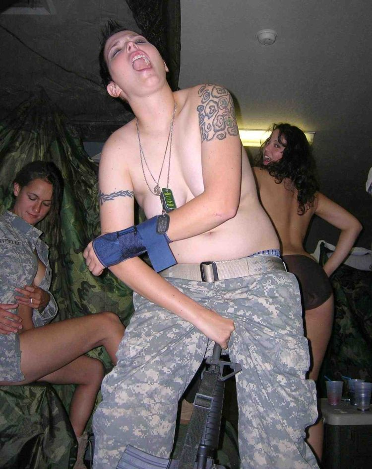 naked nude military girl