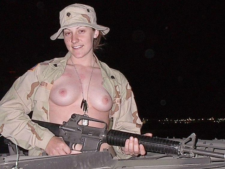 from Brooks sexy military chicks naked