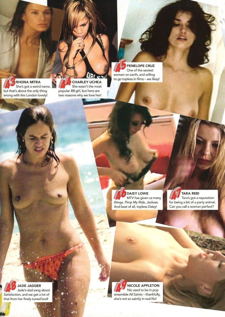 Topless pop stars doubt. And