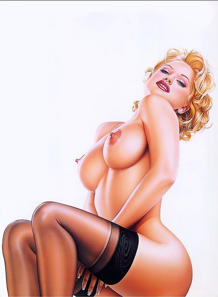Pin ups nudes are