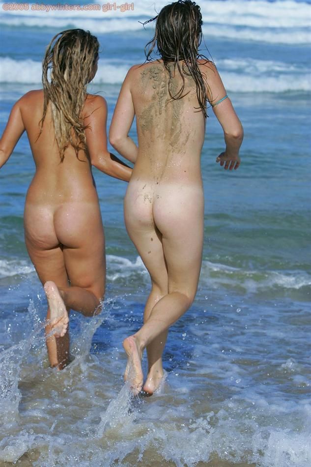 Sexy trio is having fun at the beach - 16