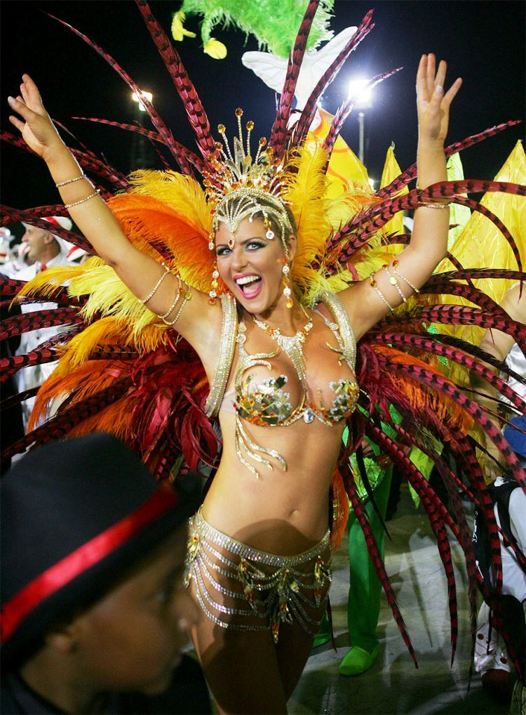 Hot Girls from Brazilian Carnival - 50
