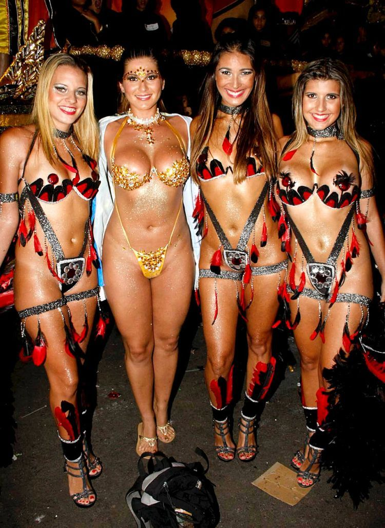 Hot Girls from Brazilian Carnival - 77