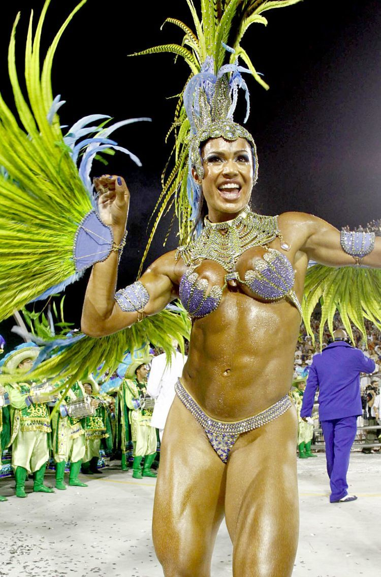 Hot Girls from Brazilian Carnival - 81