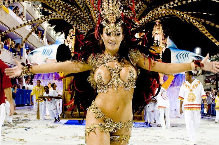 Hot Girls from Brazilian Carnival - 87