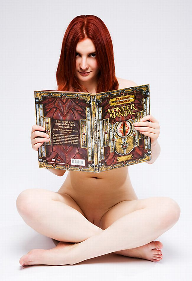 Sexy female 'book worms'  - 09