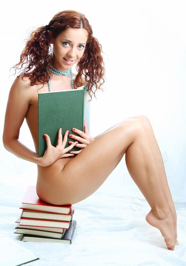 Sexy female 'book worms'  - 36