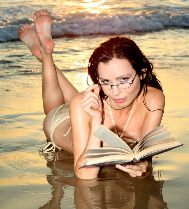 Sexy female 'book worms'  - 54