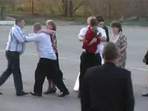 Russian wedding. Of course there was a fight. Horror - 20100223