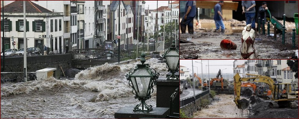 The devastating floods on the island of Madeira - 2