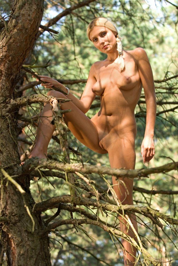Blond wood nymph Amina - 14