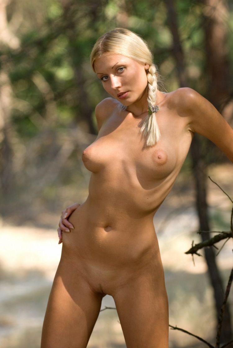 Blond wood nymph Amina - 19