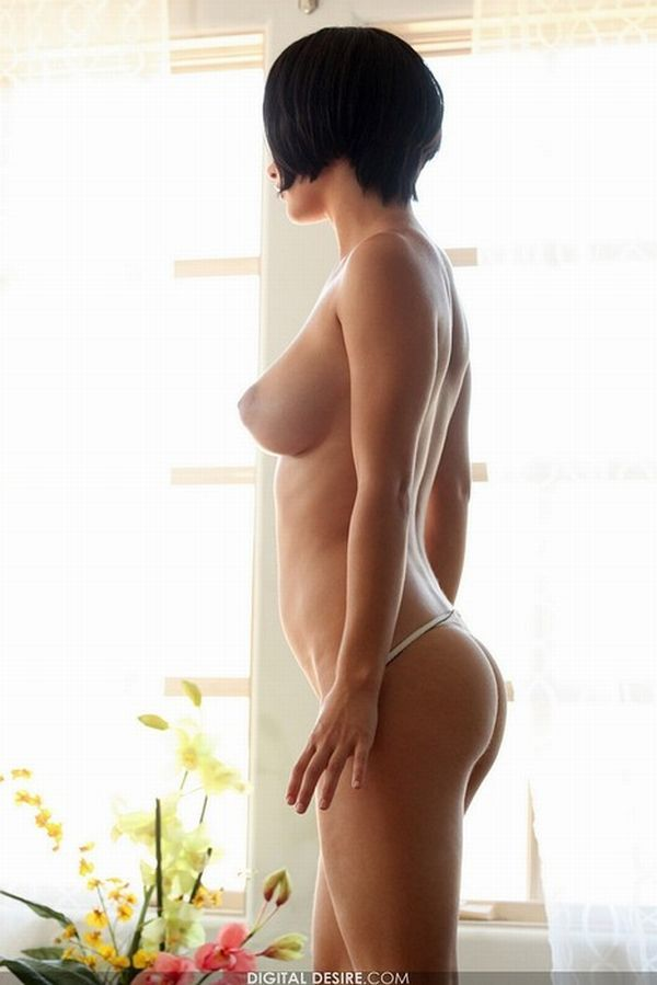 Seductive girls with short haircuts - 52