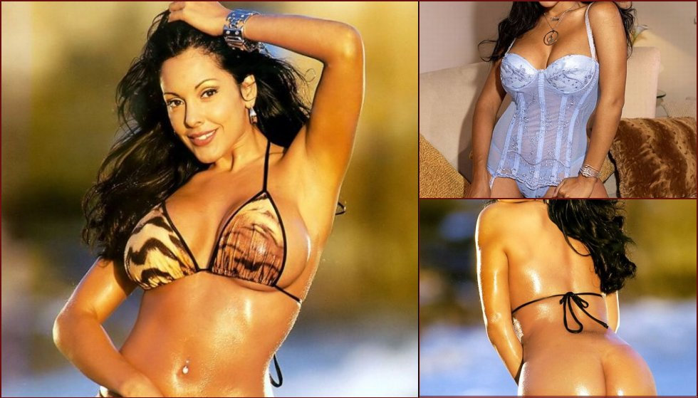 Well-known porn actress Nina Mercedez and her delicious forms  - 18