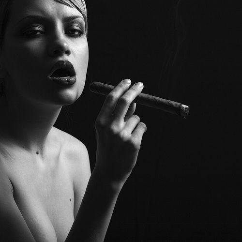 Babes with cigars, a fascinating show. Enjoy ;) - 11