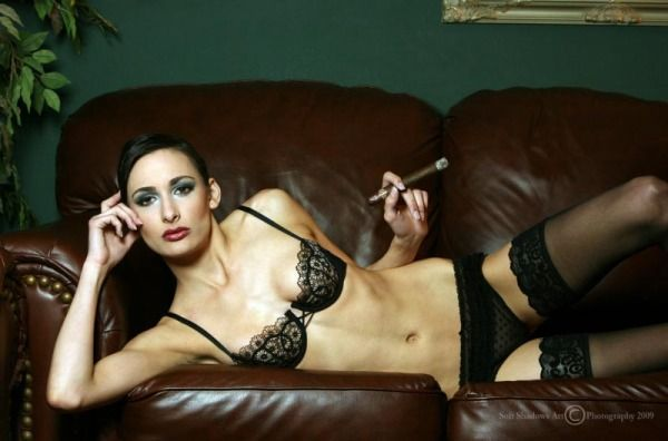 Babes with cigars, a fascinating show. Enjoy ;) - 16