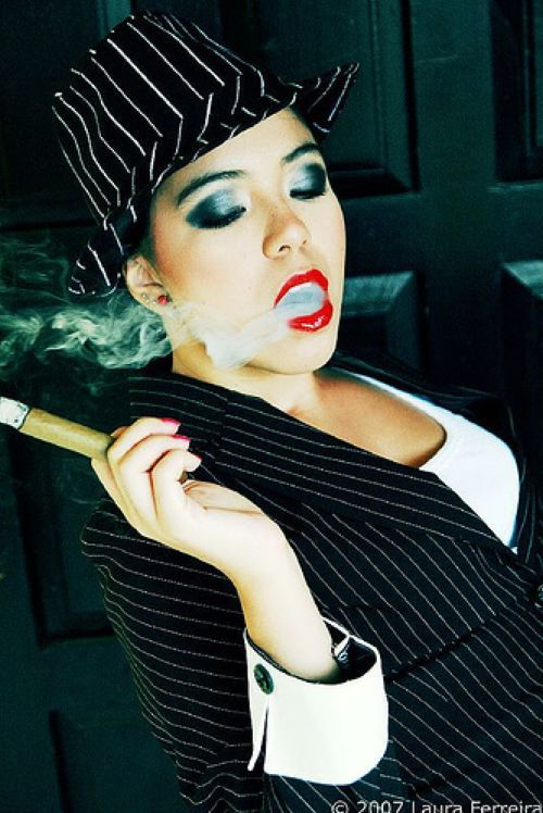 Babes with cigars, a fascinating show. Enjoy ;) - 22