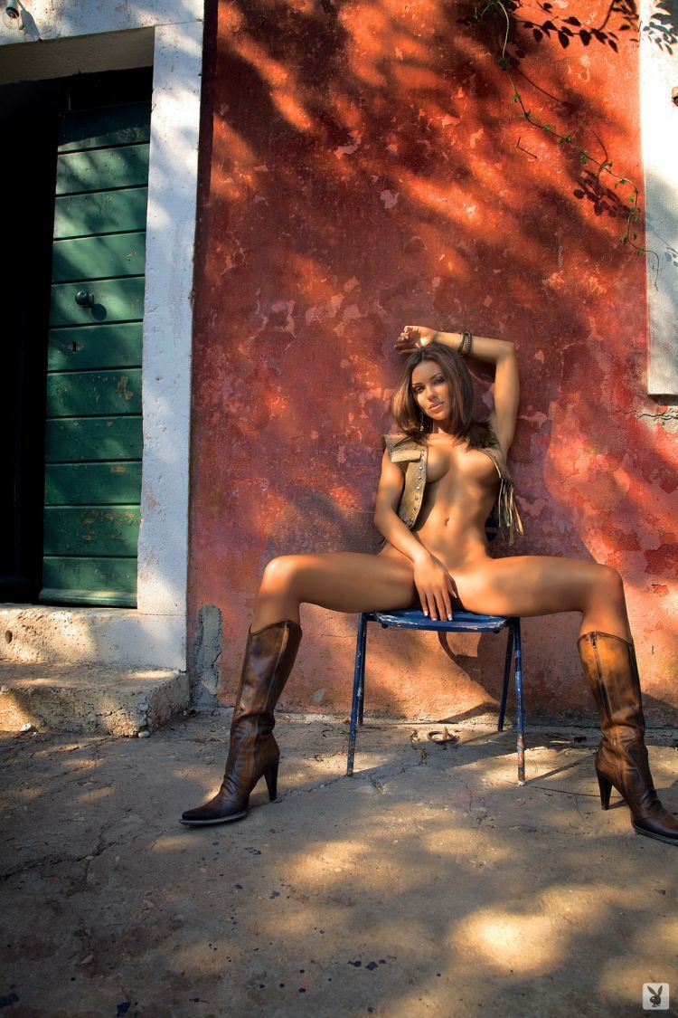 Charming Marta Gut in Playboy - 03