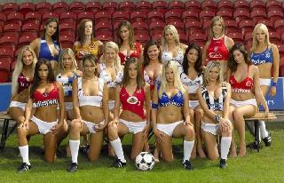 Girls and soccer - is not only sportive, it is also very sexy