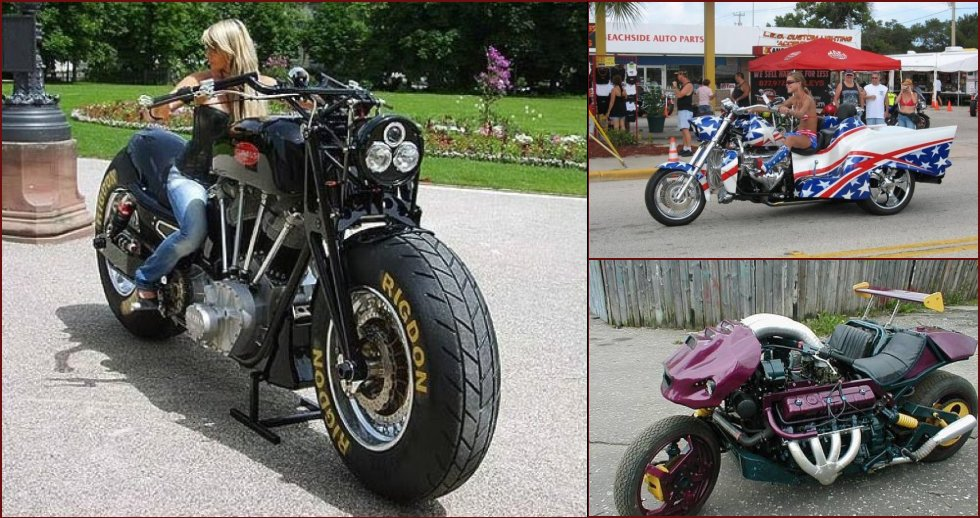 The most unusual bikes - 18