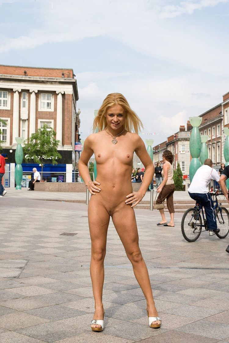 naked cosplay in public