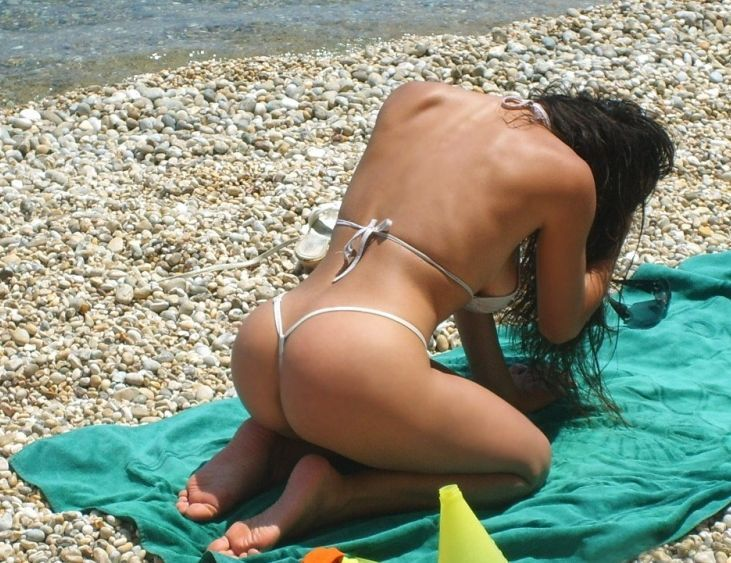Beautiful ass and thongs - 30
