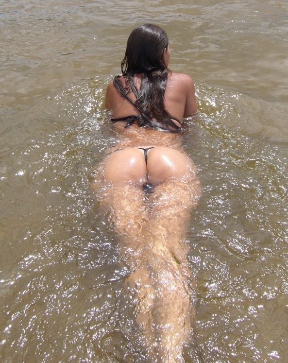 Beautiful ass and thongs - 49