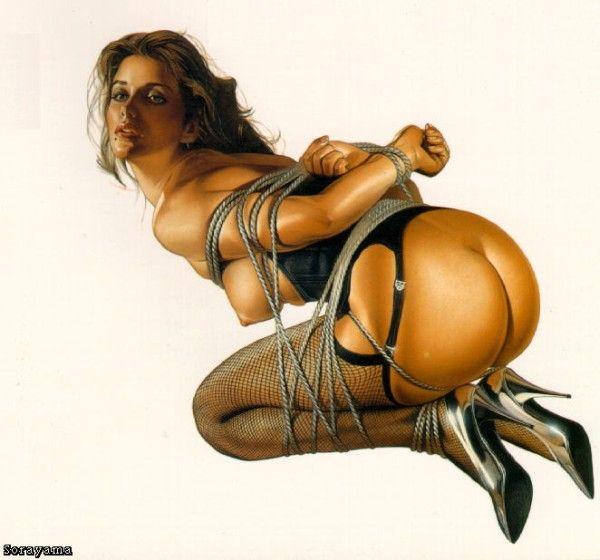 Erotic drawings by Japanese artist Hajime Sorayama - 10