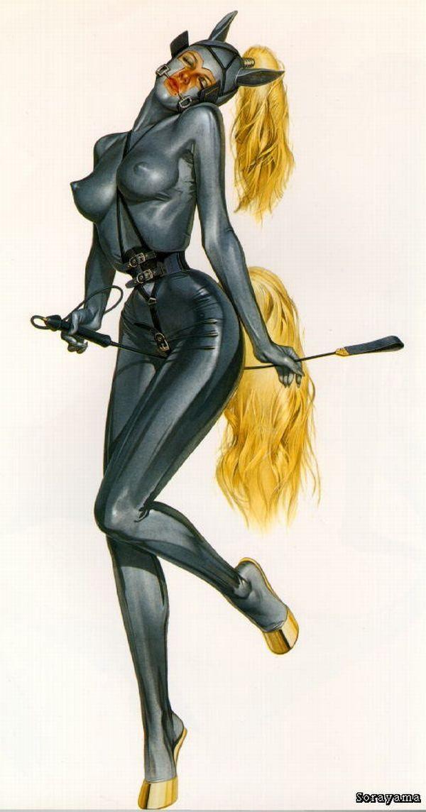Erotic drawings by Japanese artist Hajime Sorayama - 20