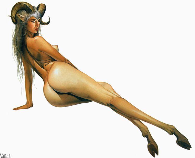 Erotic drawings by Japanese artist Hajime Sorayama - 30