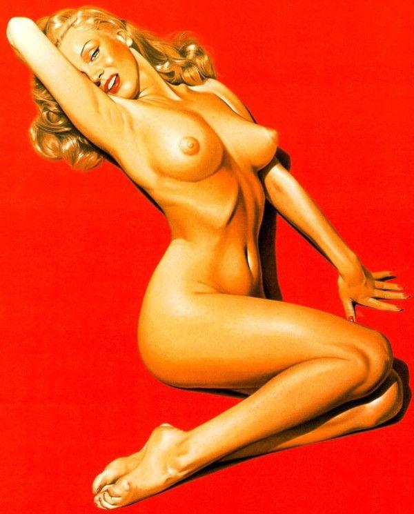 Erotic drawings by Japanese artist Hajime Sorayama - 36