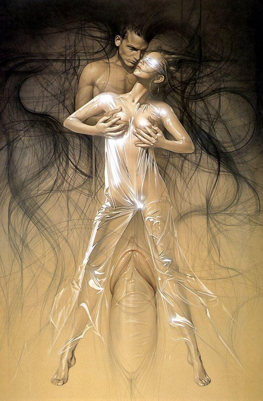 Erotic drawings by Japanese artist Hajime Sorayama - 46