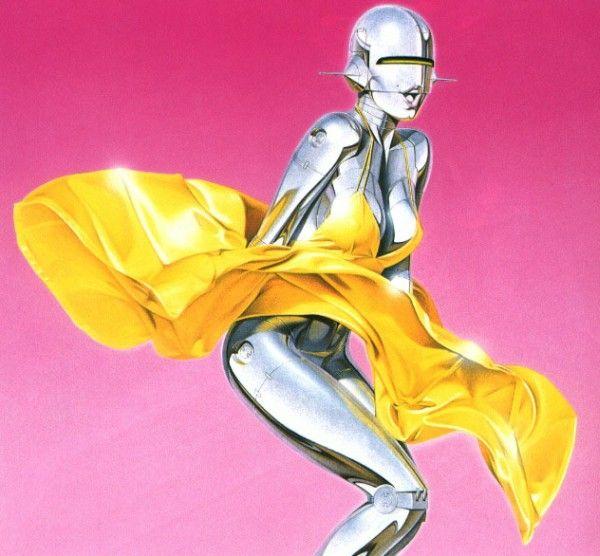 Erotic drawings by Japanese artist Hajime Sorayama - 54